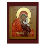 Saint Anna Prayer Card Post Card