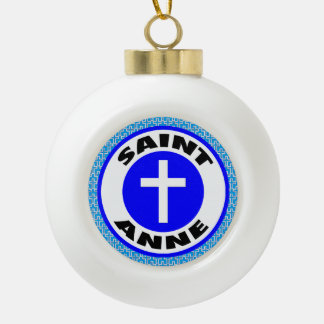 Saint Anne Ceramic Ball Decoration