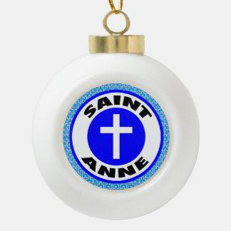 Saint Anne Ceramic Ball Decoration