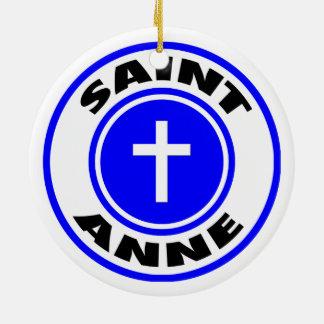 Saint Anne Christmas Tree Ornament