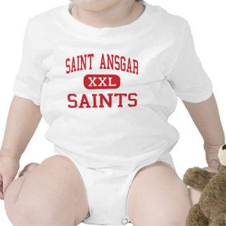 Saint Ansgar - Saints - Middle - Saint Ansgar Iowa Baby Bodysuit