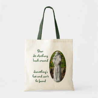 Saint Anthony Budget Tote Bag
