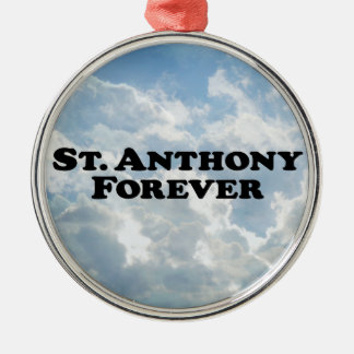 Saint Anthony Forever - Basic Christmas Ornament