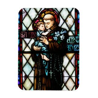 Saint Anthony of Padua Holding a Child Magnet