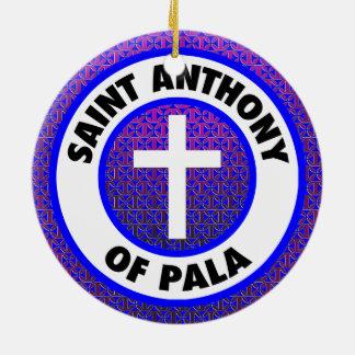 Saint Anthony of Pala Christmas Ornament