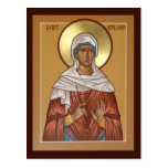 Saint Apollonia Prayer Card Post Cards