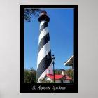 Saint Augustin Florida Lighthouse Poster
