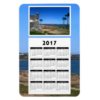 Saint Augustine 2017 5x7 jGibney The MUSEUM Zazzle Rectangular Photo Magnet