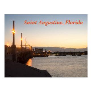 Saint Augustine, Florida Postcard
