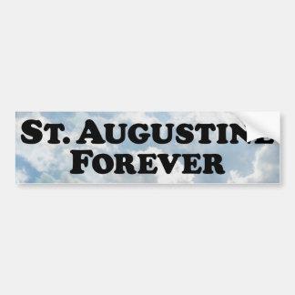 Saint Augustine Forever - Basic Bumper Sticker