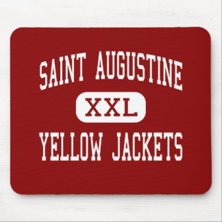 Saint Augustine - Yellow Jackets - Saint Augustine Mouse Pad