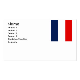 Saint Barthelemy Business Cards