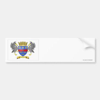 Saint Barthelemy Flag Bumper Sticker