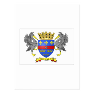 Saint Barthelemy Flag Postcard