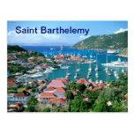 Saint Barthelemy postcard