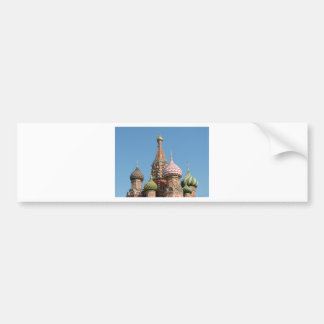 Saint Basil's Cathedral Bumper Sticker