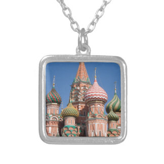 Saint Basil's Cathedral Church in Moscow Necklace