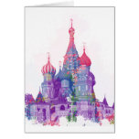 Saint Basil's Cathedral Moscow Greeting Card