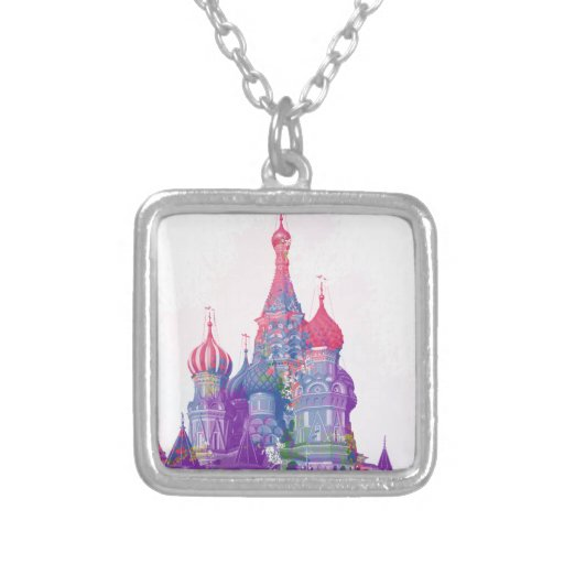Saint Basil's Cathedral Moscow Custom Jewelry