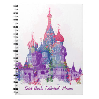 Saint Basil's Cathedral Moscow Notebook