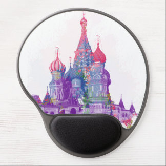 Saint Basil's Cathedral Moscow Russia Gel Mouse Pad