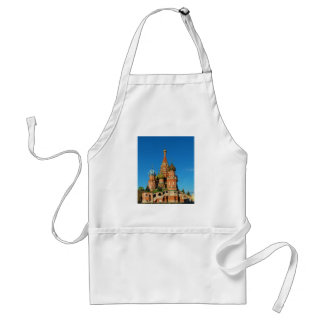 Saint Basil's Cathedral Moscow Russia Standard Apron