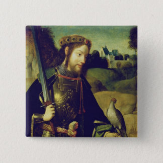 Saint Bavo 15 Cm Square Badge