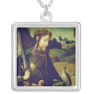 Saint Bavo Silver Plated Necklace