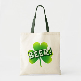 Saint Beer Day Tote Bag
