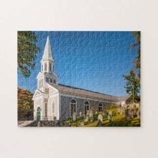 Saint Bernard Catholic Church With Old Hill Puzzles