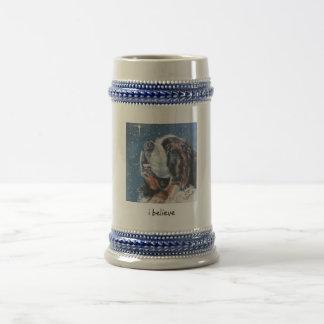 Saint Bernard Christmas mug i believe