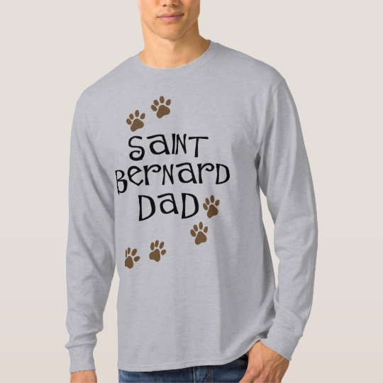 Saint Bernard Dad T-Shirt