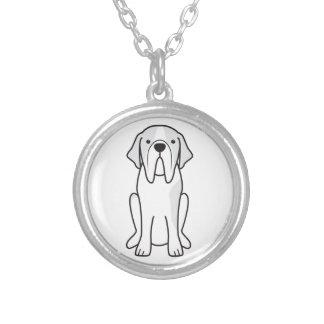 Saint Bernard Dog Cartoon Pendant