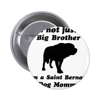saint bernard Dog Designs Pin