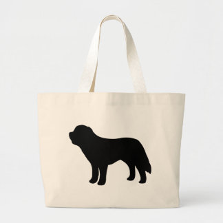 Saint Bernard Dog Jumbo Tote Bag
