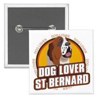 Saint Bernard Dog Lover Pins