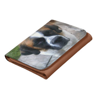 Saint Bernard Dog Wallets