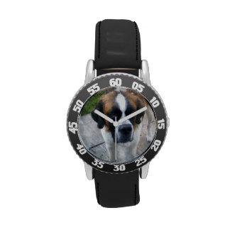 Saint Bernard Dog Wrist Watches