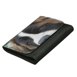 Saint Bernard Dog Women's Wallets