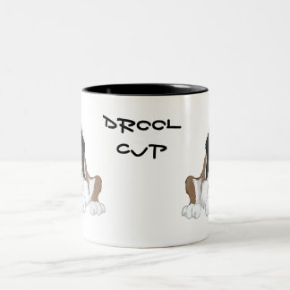 Saint Bernard drool cup