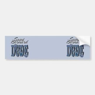 Saint Bernard DUDE Bumper Stickers