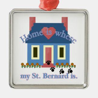 SAINT BERNARD home is Ornament