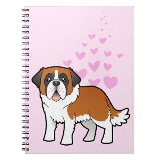 Saint Bernard Love Notebook