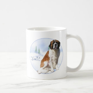 Saint Bernard Noel Coffee Mug