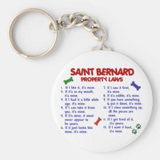 SAINT BERNARD Property Laws 2 Key Ring