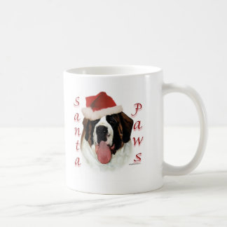 Saint Bernard Santa Paws Coffee Mug