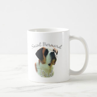 Saint Bernard (smooth) Dad 2 Coffee Mug