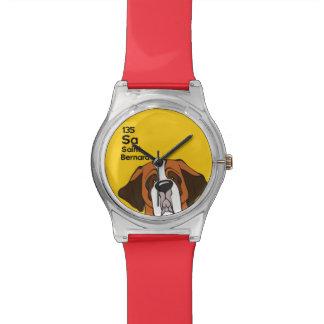 Saint Bernard - The Dog Table Watch