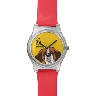 Saint Bernard - The Dog Table Wrist Watch