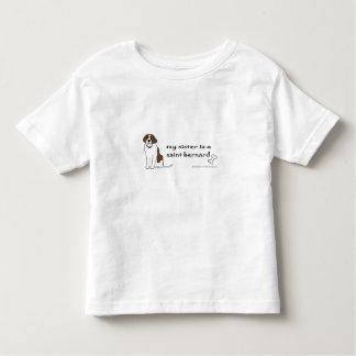 saint bernard toddler T-Shirt